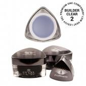 .Profinails UV Builder clear zselé #2 (Low Heat, LED/UV) 30 g