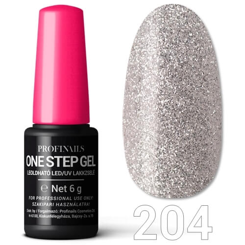 Profinails  One Step Gel LED/UV lakkzselé 6gr No.204