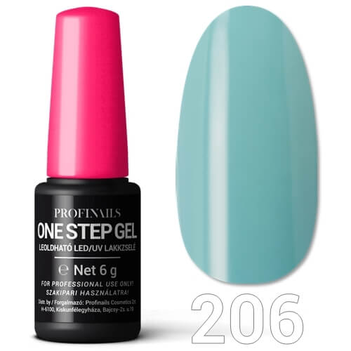 Profinails  One Step Gel LED/UV lakkzselé 6gr No.206