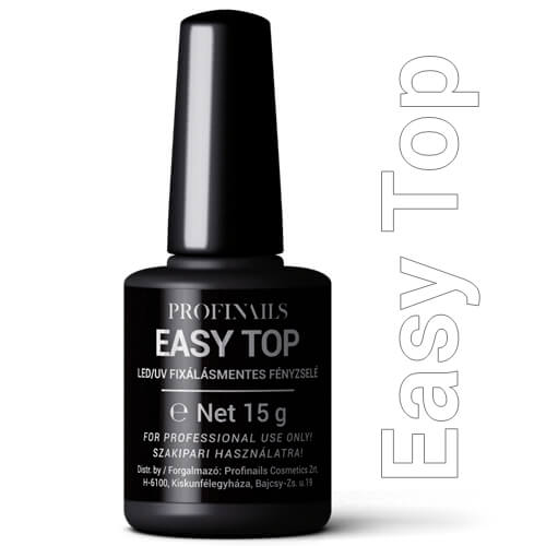 Profinails  Easy Top fixálásmentes LED/UV fényzselé 15g