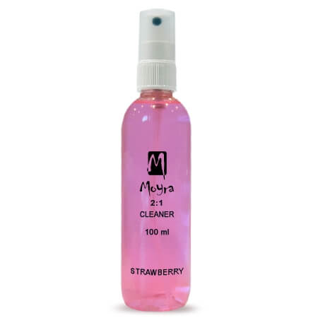 Moyra 2-1 Fixáló + Prep Cleaner 100ml epres