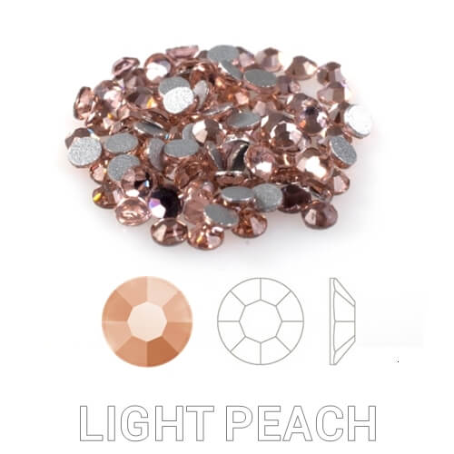 12 Light Peach