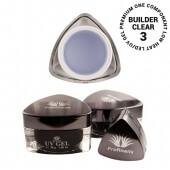 .Profinails UV Builder clear zselé #3 (Low heat, LED/UV)  5 g