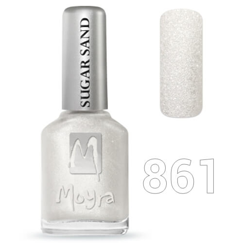 Moyra Sugar sand effect körömlakk 12 ml  No.861