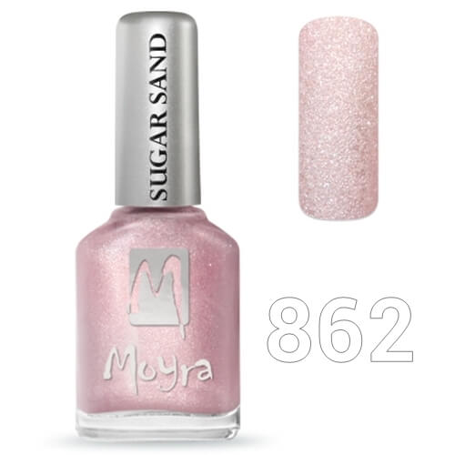 Moyra Sugar sand effect körömlakk 12 ml  No.862
