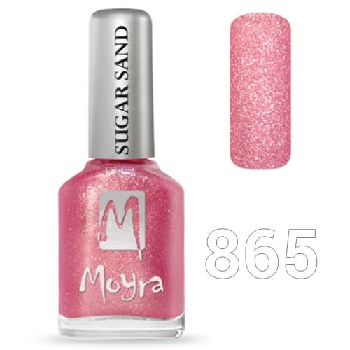 Moyra Sugar sand effect körömlakk 12 ml  No.865