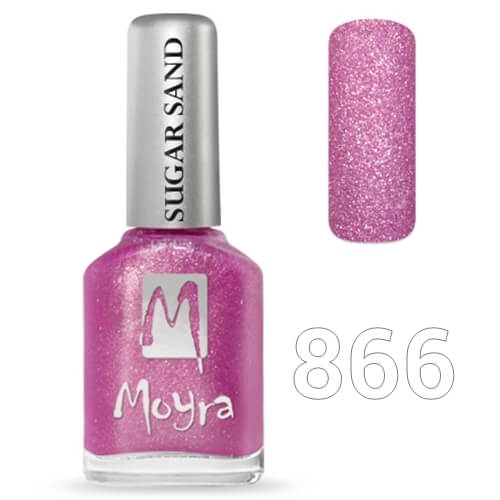 Moyra Sugar sand effect körömlakk 12 ml  No.866