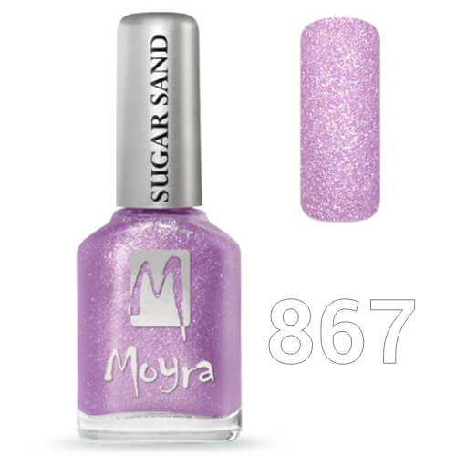 Moyra Sugar sand effect körömlakk 12 ml  No.867