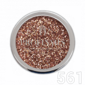 Profinails Cosmetic Glitter No. 561 (Rose Gold 01)
