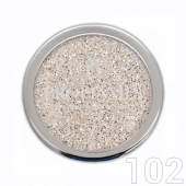 Profinails Pure Silver glitter 3g No.102 (ezüst árnyalat)
