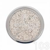 Profinails Pure Silver glitter 3g No.103 (ezüst árnyalat)