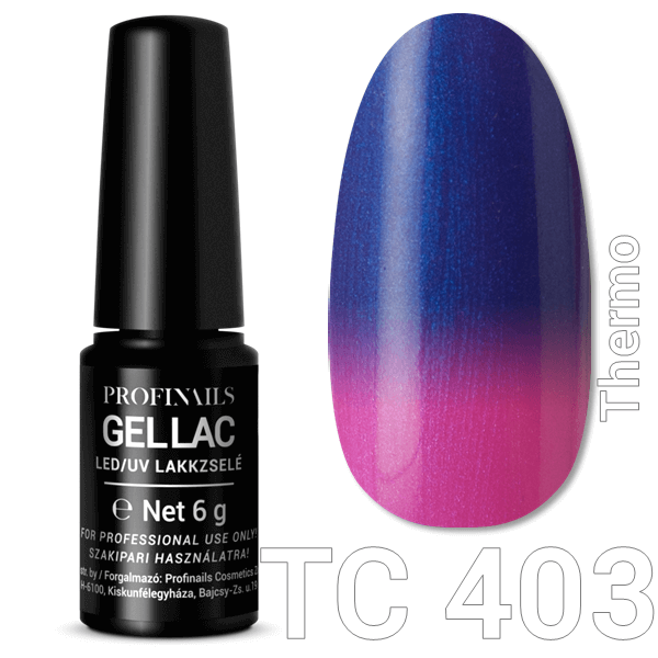 Profinails  Gel Lac LED/UV lakkzselé 6gr No.403 (TC series)