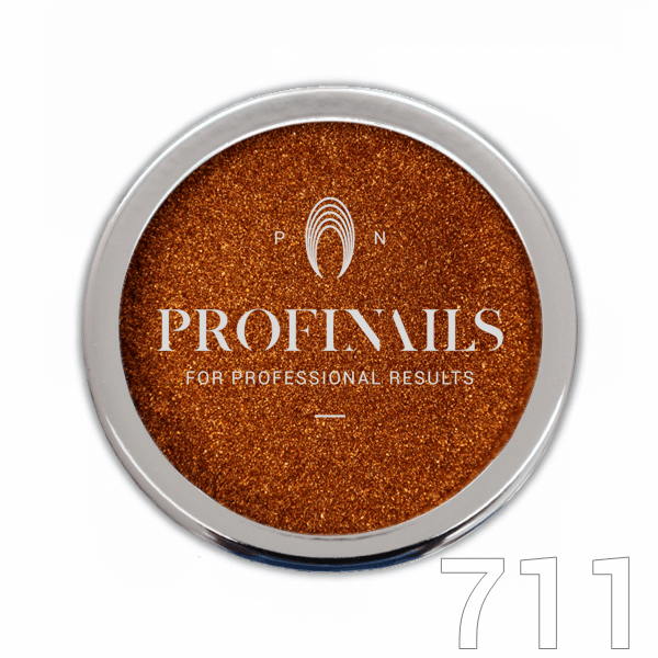 Profinails Mirror Holographic Powder csillámpor 1g Unicorn Gold No. 711