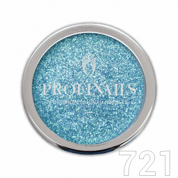 Profinails Candy Aurora Powder csillámpor 1g Light Blue No. 721