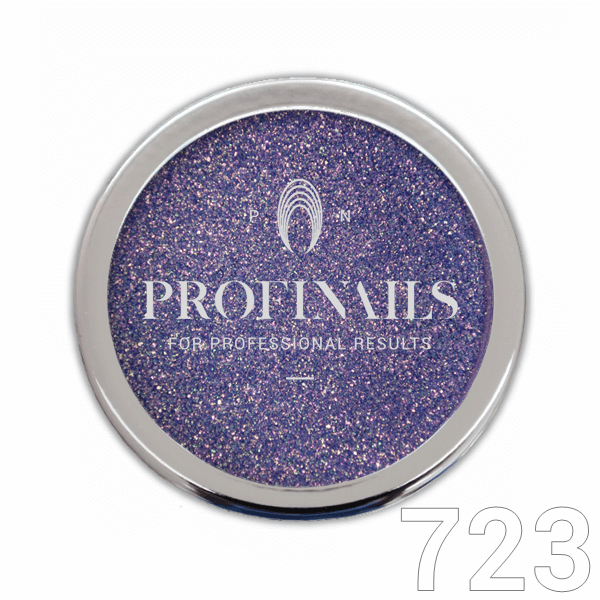 Profinails Candy Aurora Powder csillámpor 1g Purple No. 723
