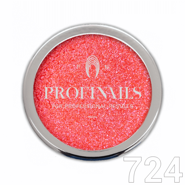 Profinails Candy Aurora Powder csillámpor 1g Red No. 724