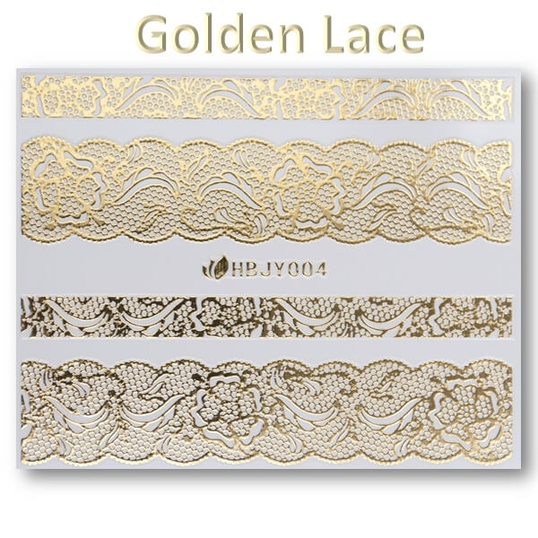 3D Gold Lace matrica No-05-HBJY-004