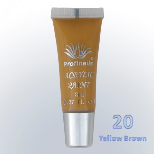 No.  20 yellow brown